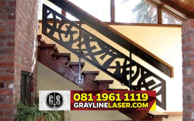 081 1961 1119 > GRAYLINE LASER | Railing Tangga Laser Cutting Kronjo Tangerang