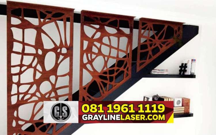 081 1961 1119 > GRAYLINE LASER | Railing Tangga Laser Cutting Cibodas Tangerang