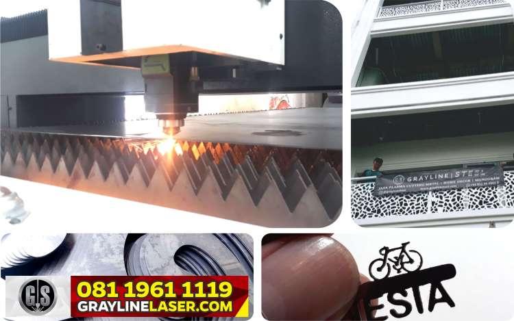 harga laser cutting metal per meter jakarta, laser cutting jakarta