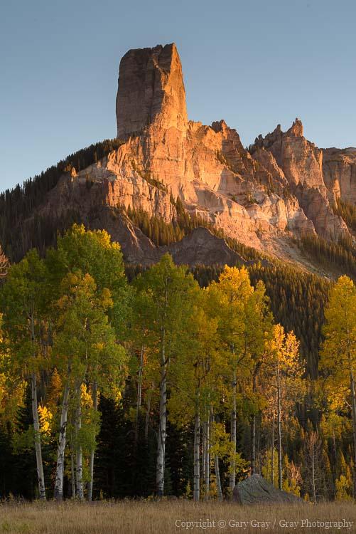 Cimarron Mountains, Colorado Landscapes