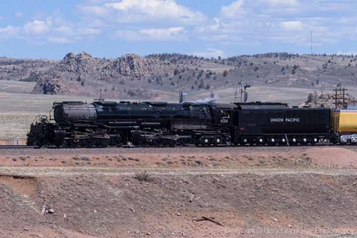Union Pacific 4014 Big Boy in Southern Wyoming