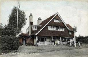 Fox & Pelican c.1905 viewed from the south west