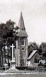 Grayshott War Memorial - original location