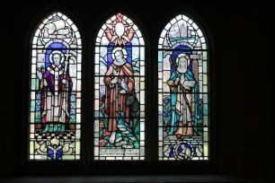 St Augustine of Canterbury, St Francis of Assisi, St Hilda of Whitby