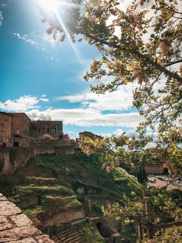 view of Volterra Italy