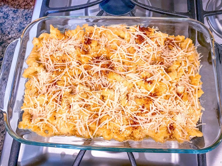 Vegan Mac & Cheese Casserole