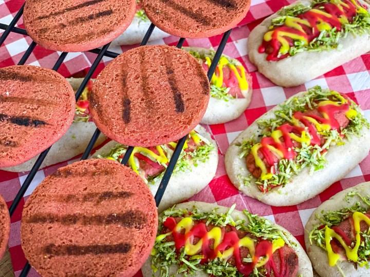 Hot Dog and Burger Cookies