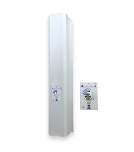 Humidex UNS 209 Analog Basement Unit -Dehumidifier - Humidity Control - Ventilation