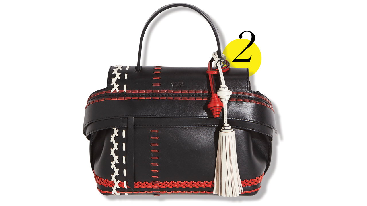 ae261ea5bc From glittering jackets and jewels to Tod's must-have bag of the ...