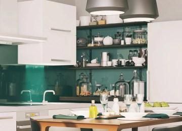 Parete Colorata Cucina | Parete Cucina Colorata Parete Cucina ...