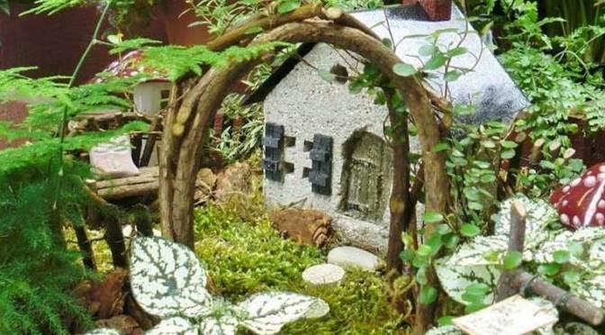 An Urban Fairy Garden To Enjoy Indoors All Year!
