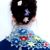 Spring Flowers  Scarf ೋ