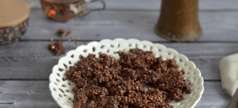 Quinoa-Schokoladen-Puffer zum Geburtstag von der Kuchenbäcker