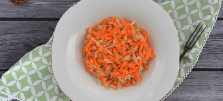 Vegetarisch Kochen: Karotten-Fenchel-Salat