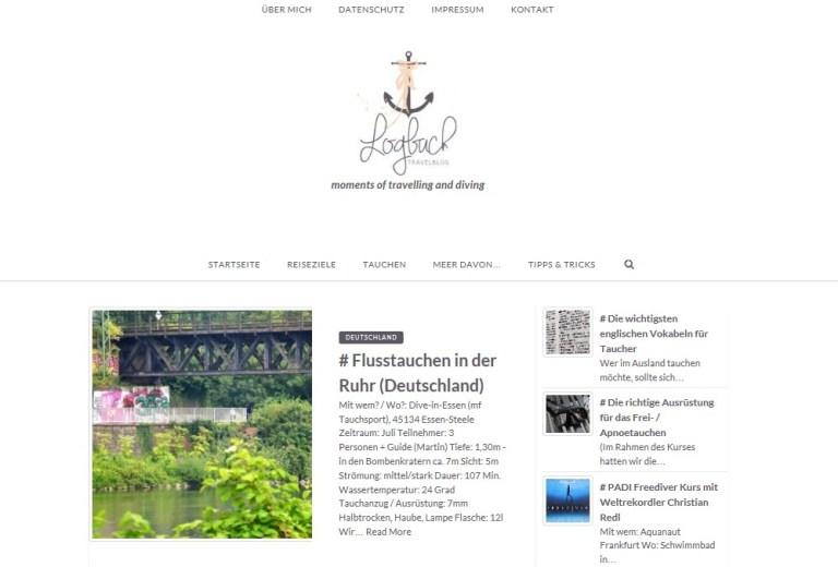 Logbuch Travelblog