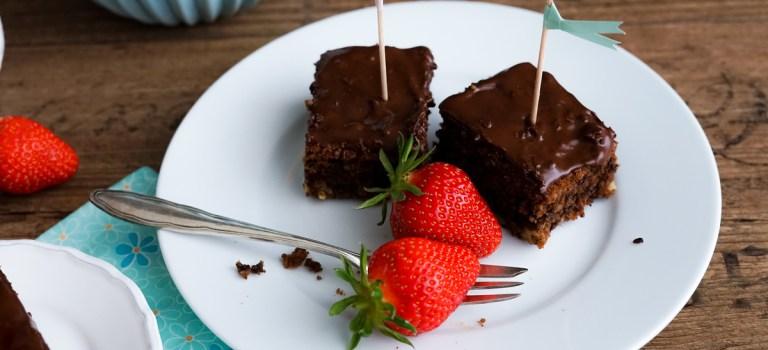 Gastbeitrag: Brownies mit Schokolade & Walnüssen by Wunderbrunnen