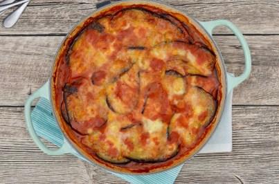 Soulfood: Parmigiana di Melanzane (Auberginenauflauf)
