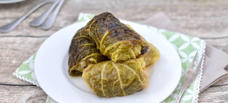 Kochen im Schnellkochtopf: Wirsingrouladen mit Hackfleischfüllung