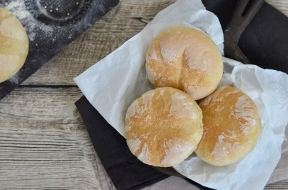 Selbst gemacht: Muffin-Brötchen aus Kartoffeln und Dinkelmehl