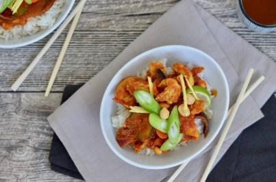 Für jeden Tag: Hähnchencurry mit Erdnüssen