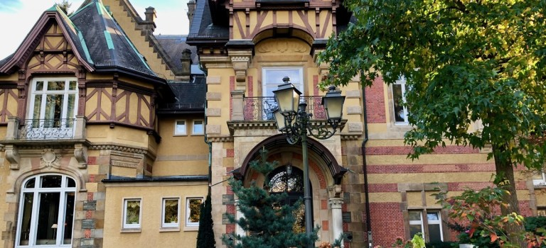 Ein Wochenende in der Villa Rothschild mit einem Besuch im Grill & Health Restaurant