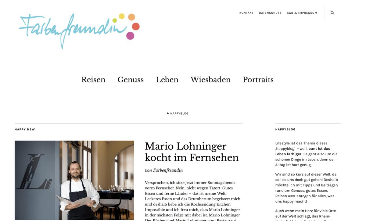 Blogger Mon(th)day: Bärbel von Farbenfreundin