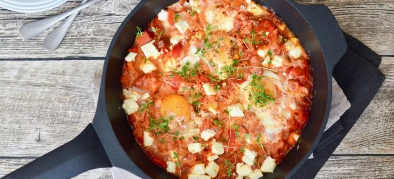 Soulfood: Schakschuka (Pochierte Eier in Tomatensauce)