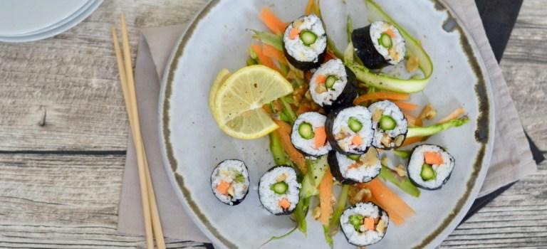 Zwei Drittel WM-Fieber und ein koreanisches Gimbap mit Gemüse & Walnüssen