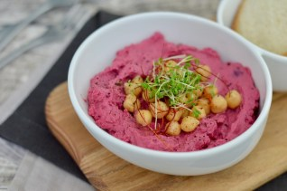 Prep&Cook Weekend Kitchen: #9 Rote-Bete-Hummus / KRUPS Blogger Kochbuch