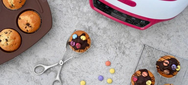 Tefal Cake Factory & ein Rezept für bunte Schokoladen-Muffins