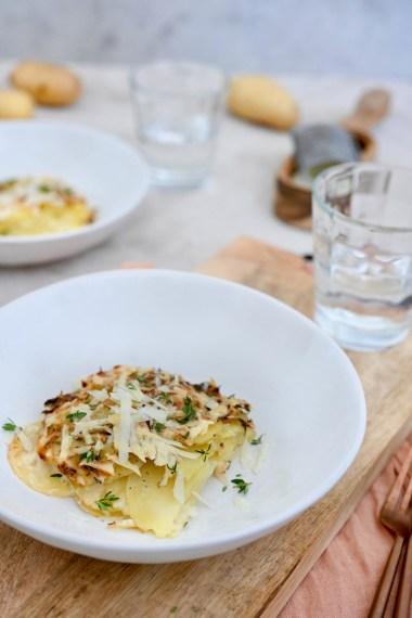 Tefal #kartoffellust: Kartoffelgratin mit Pecorino