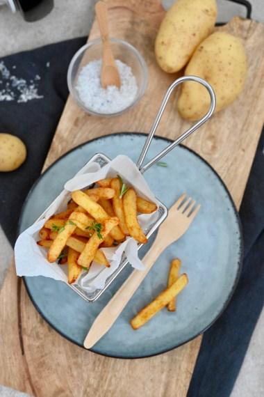 Pommes frites italien style