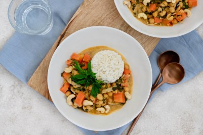 Hits aus der Vorratskammer: vegetarisches Kichererbsen-Curry