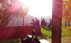 The view towards Graz