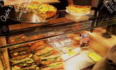 The sandwich showcase