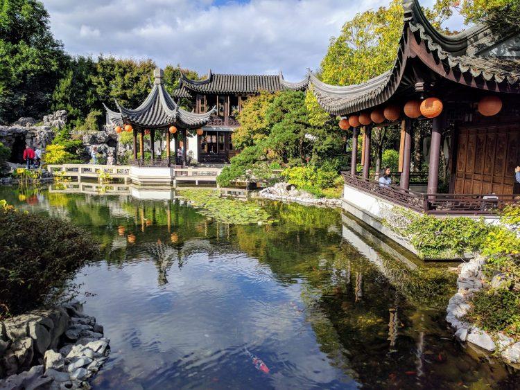 Lan Su Classical Chinese Garden, Portland