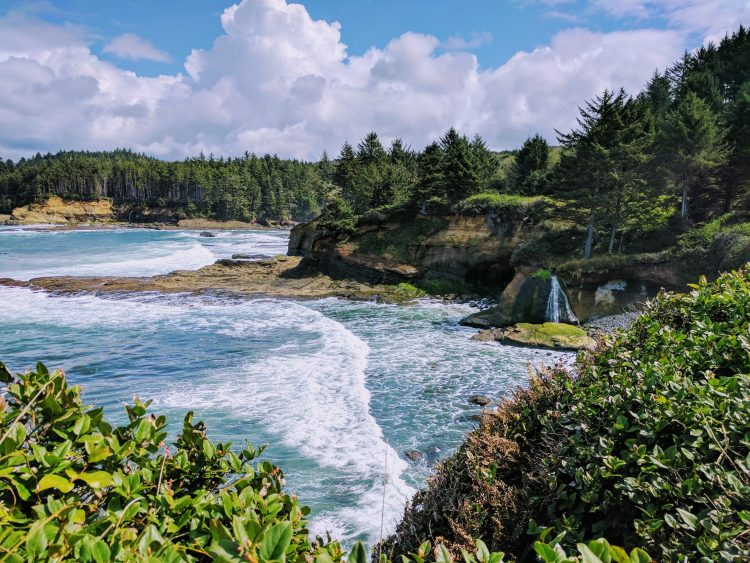 Boiler Bay State Scenic Viewpoint, Depoe Bay