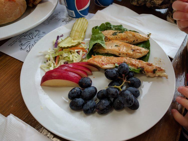 Kid's Meal at Ocean Bleu Seafoods at Gino's