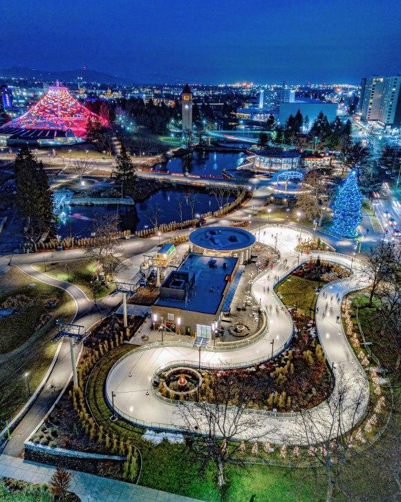 Spokane, overlooked urban destination: ice ribbon