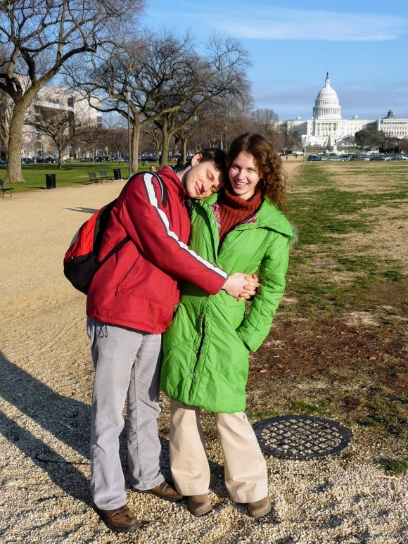 Our very first visit to DC. The beautiful weather felt like early spring. Actually mid-December