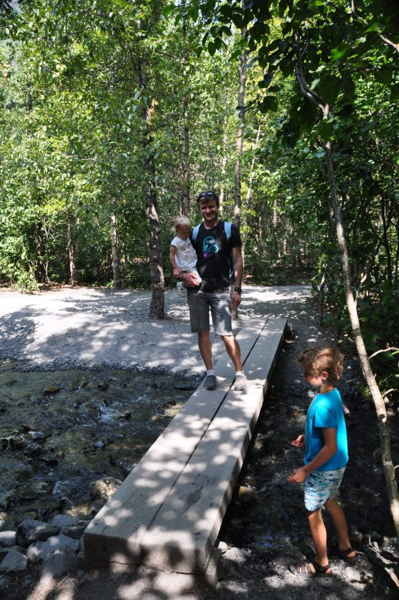 On the outwash trail