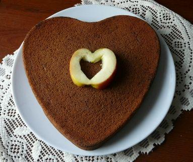 serce czekoladowe