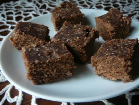 czekolada sezamowa