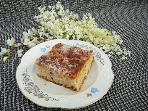 ciasto drożdżowe z kwiatową kruszonką1