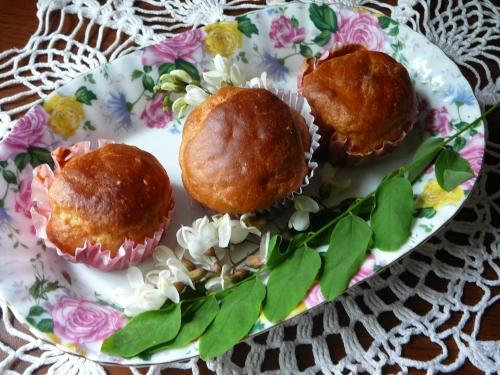 muffinki akacjowe