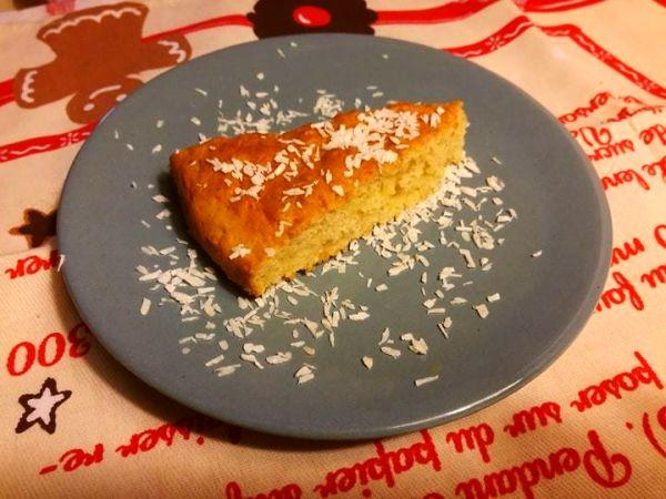 ciasto kokosowo- jablkowe