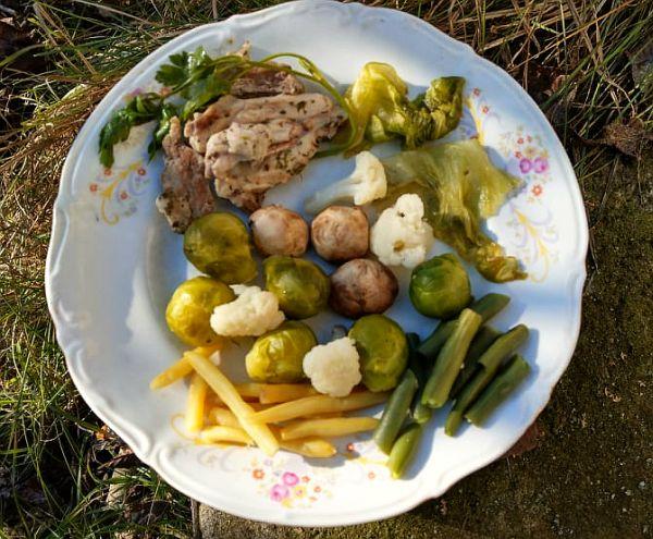 Dietetyczne Warzywa Na Parze Z Kurczakiem Grazyna Gotuje