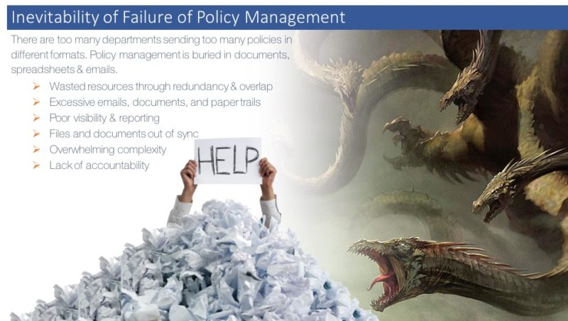 Policy Management Demands Attention