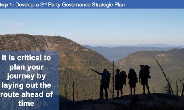 Step 1: Develop a 3rd Party GRC Strategic Plan
