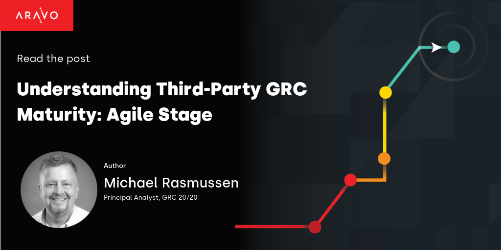 Understanding Third Party GRC Maturity: Agile Stage